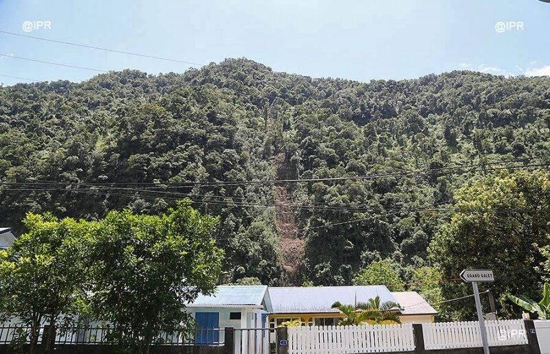 Intervention sur du foncier à risques à La Réunion